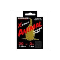 Kamasan Animal X strong Barbless Hooks to nylon