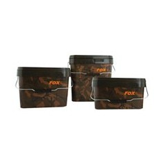Fox Camo Square Carp Bucket 17L